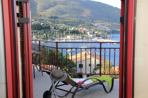 Μπαλκόνι ή βεράντα στο Greka Ionian Suites
