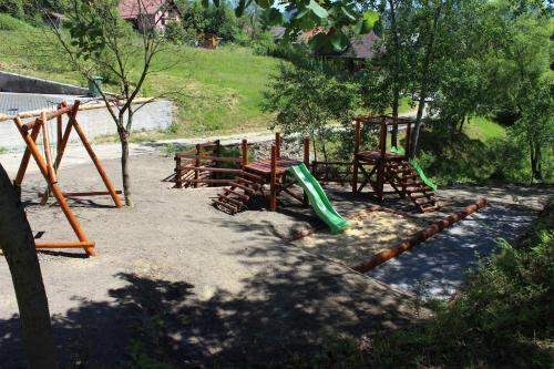 Children's play area at Horske Domy