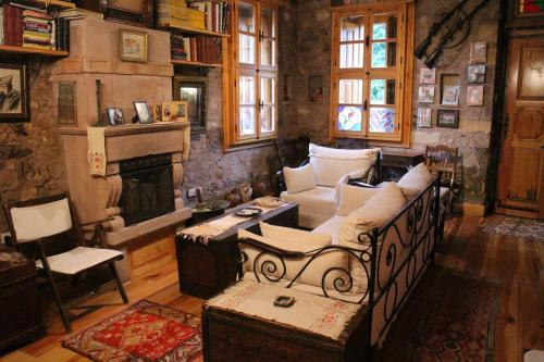 A seating area at Stone House with Garden in Cunda/Ayvalik