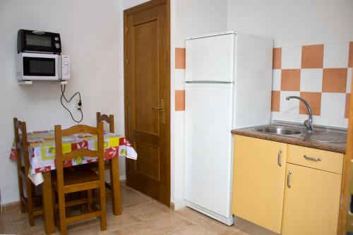 Η κουζίνα ή μικρή κουζίνα στο Villa la Dehesa
