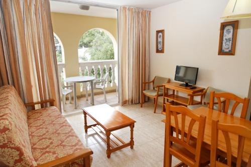 Area soggiorno di Aparthotel Reco des Sol