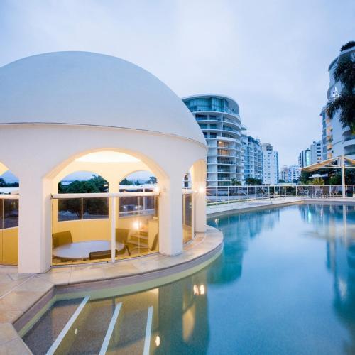 The swimming pool at or near Mantra Zanzibar