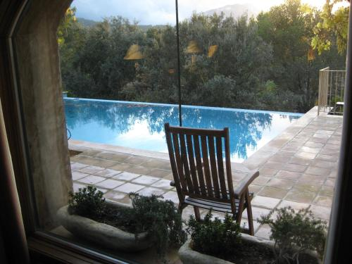 The swimming pool at or near Villa Dos Pins