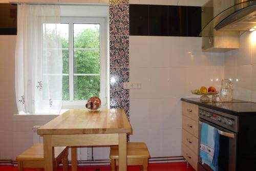 Virtuve vai virtuves aprīkojums naktsmītnē Jasmine Apartamenti