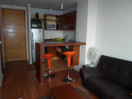 Zona de estar de Suites San Isidro