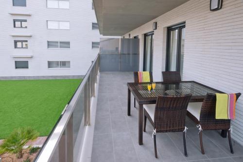 A balcony or terrace at Apartamentos Norte 14