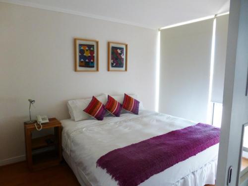 Cama o camas de una habitación en Travel Place Andino