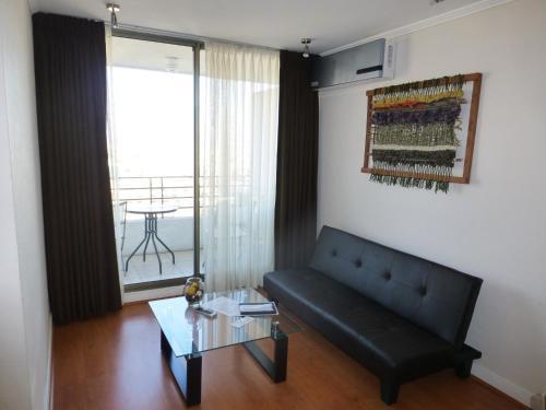 Zona de estar de Travel Place Andino