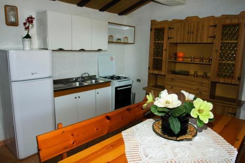 Cucina o angolo cottura di Casa Vacanze San Lorenzo