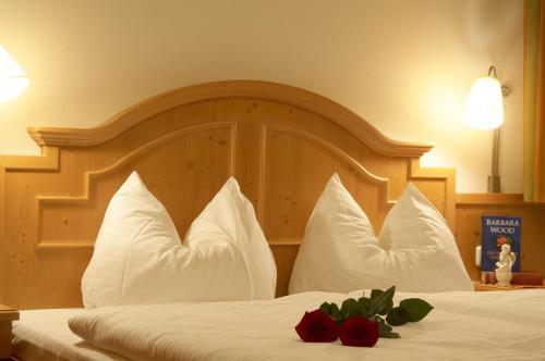 Ein Bett oder Betten in einem Zimmer der Unterkunft Appartement Alpenstern