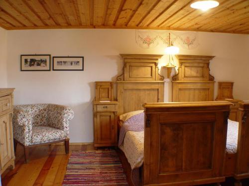 Ein Sitzbereich in der Unterkunft Ferienhaus Siegel Riegersburg