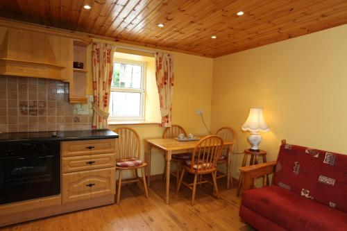 A seating area at John Joe's Self Catering