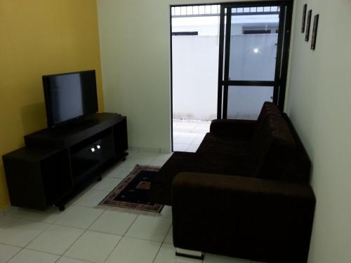 A seating area at Apartamento Asturias