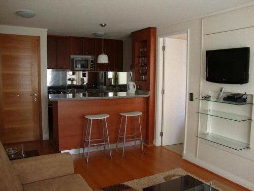 A cozinha ou cozinha compacta de MG Apartments Providencia