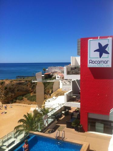 Вид на басейн у Rocamar Exclusive Hotel & Spa - Adults Only або поблизу