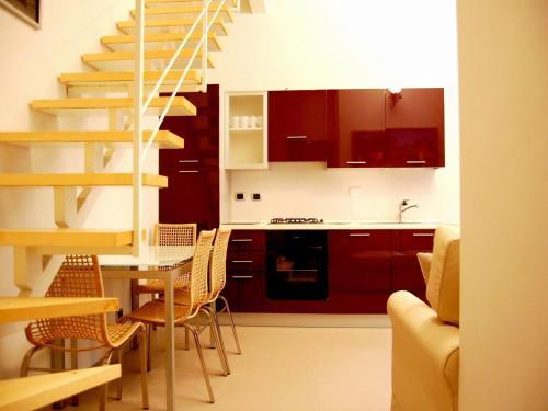 A kitchen or kitchenette at Residenza il Nespolo