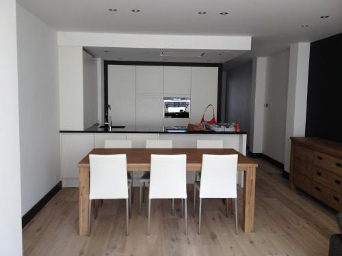 A kitchen or kitchenette at Apartment Mauritius