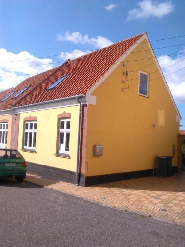 Bygningen som den private indkvartering ligger i