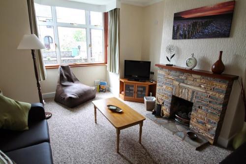 TV tai viihdekeskus majoituspaikassa Greenways
