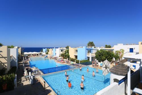A view of the pool at Eleni Holiday Village or nearby