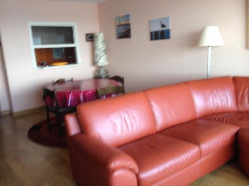 Ein Sitzbereich in der Unterkunft Apartment Nord Vrie 8D