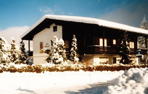 Haus Christof during the winter