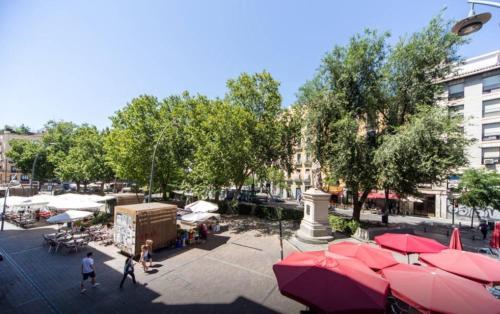 Restaurant ou autre lieu de restauration dans l'établissement Book in Madrid- Puerta Del Sol