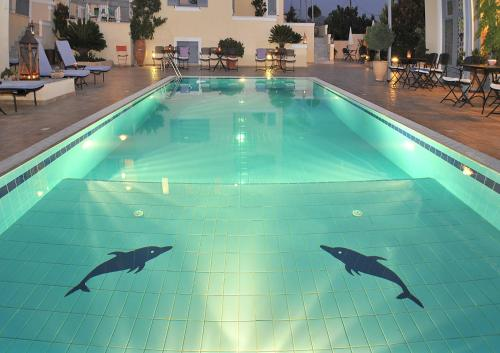 The swimming pool at or near Fistikies Holiday Apartments