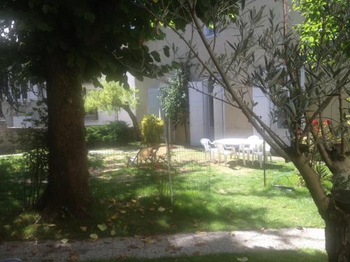 Jardin de l'établissement Villa Marisa