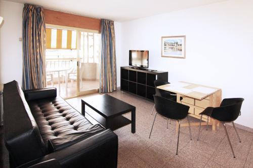 Гостиная зона в Apartamentos Indasol