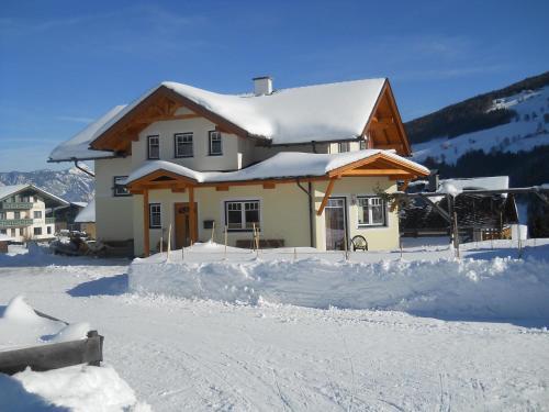 Das Apartment Binder v zimě