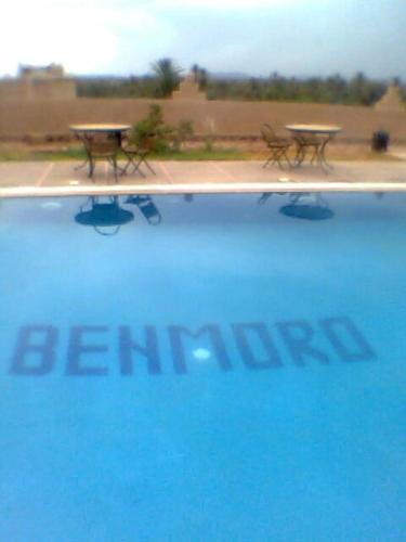 The swimming pool at or near Auberge Famille Benmoro