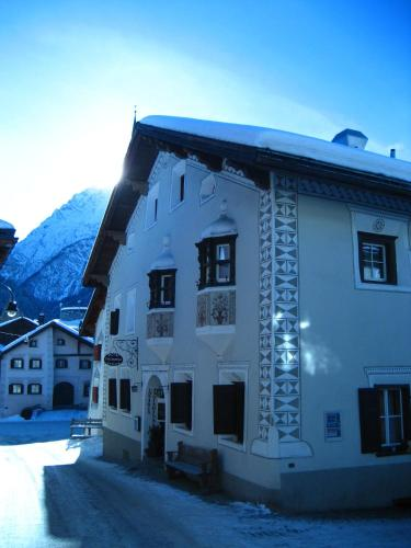 Hotel Engiadina during the winter