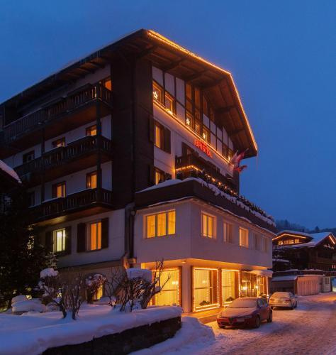 Hotel Bristol Relais du Silence Superior during the winter