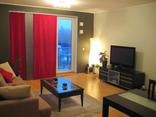 Istumisnurk majutusasutuses Summer Apartment Papiniidu