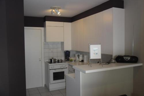 Een keuken of kitchenette bij Residence Scorpio