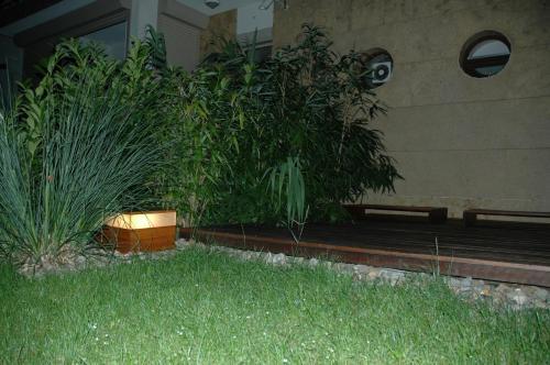 Ein Garten an der Unterkunft HIP Home Panorama Apartment
