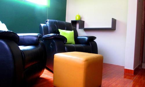 Zona de estar de SBA - Apartments in San Blas