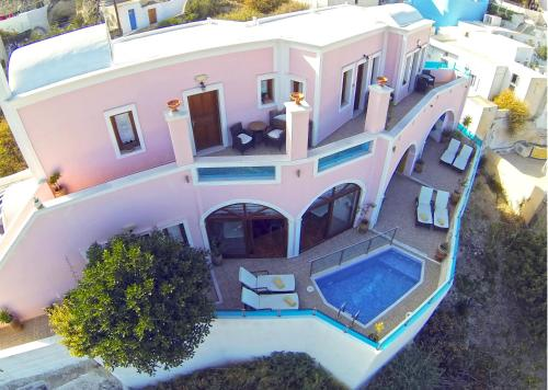 A view of the pool at Nectarios Villa - Studios & Suites or nearby