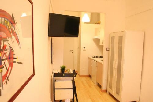 TV o dispositivi per l'intrattenimento presso Appartamento Maggiore