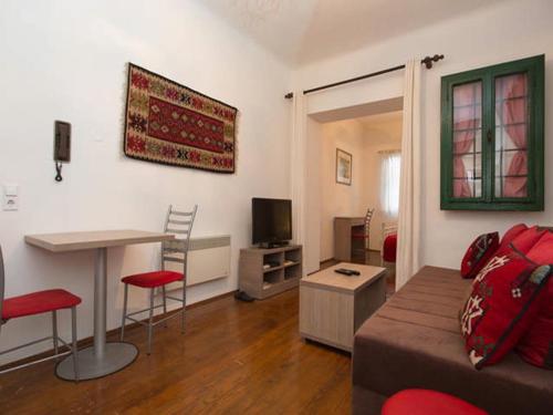 A seating area at Apartment Sehara