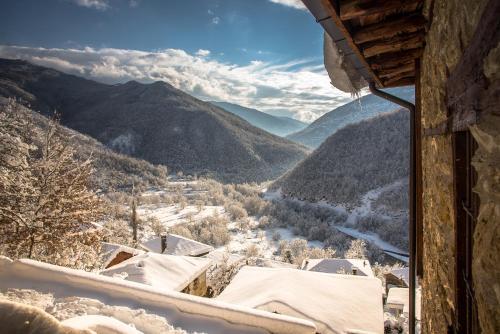 Radika View House durante l'inverno