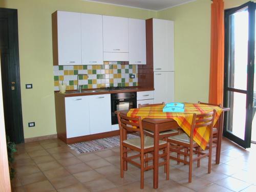 Cucina o angolo cottura di Residence Perla Rosa