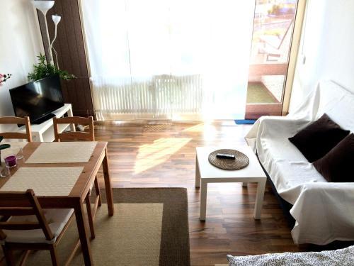 Posezení v ubytování Apartment Sunshine