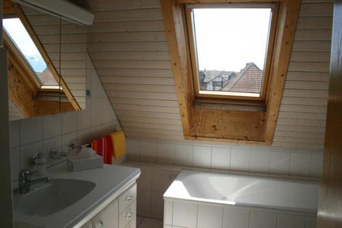 Küche/Küchenzeile in der Unterkunft Hadassa Apartment Simcha