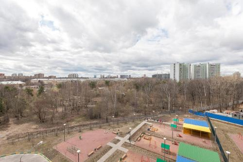 A view of the pool at Апартаменты Левый Берег Химки or nearby