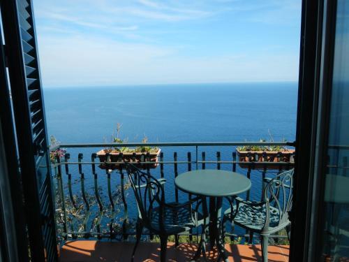 A balcony or terrace at Casa Bouganville