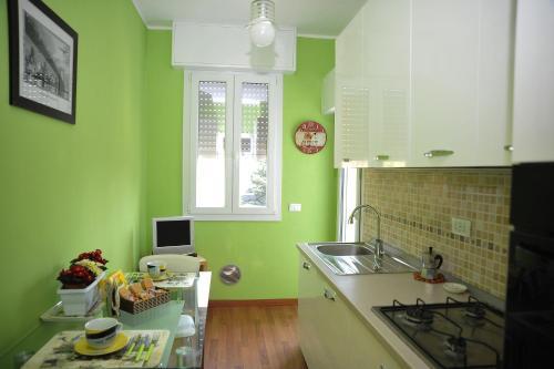 Cucina o angolo cottura di Bilocale Appennini