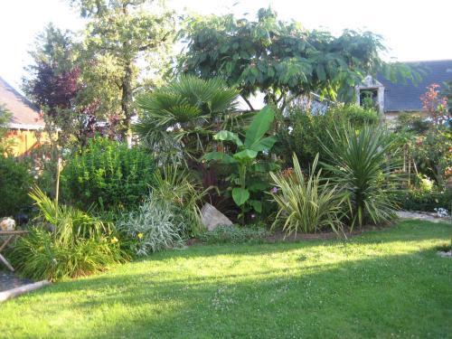 A garden outside Les Moulins Viaud