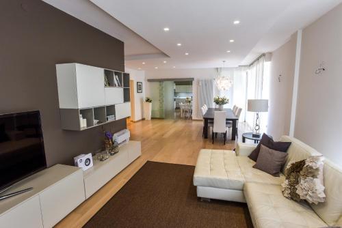 Гостиная зона в Design Apartment Verona